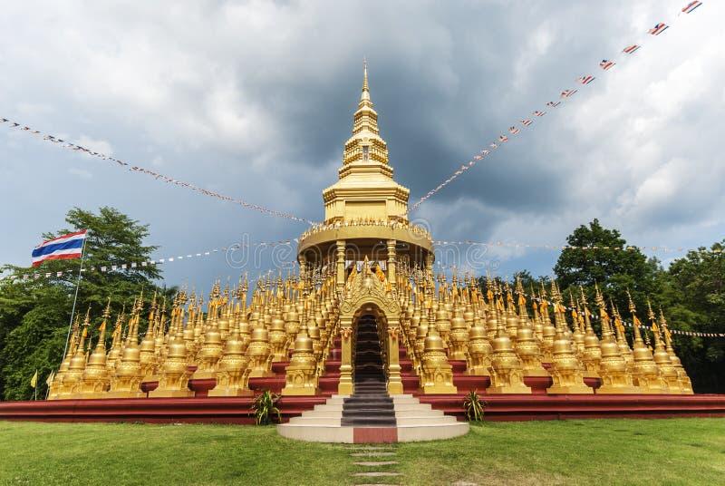 Stupa in Thailand royalty-vrije stock foto's