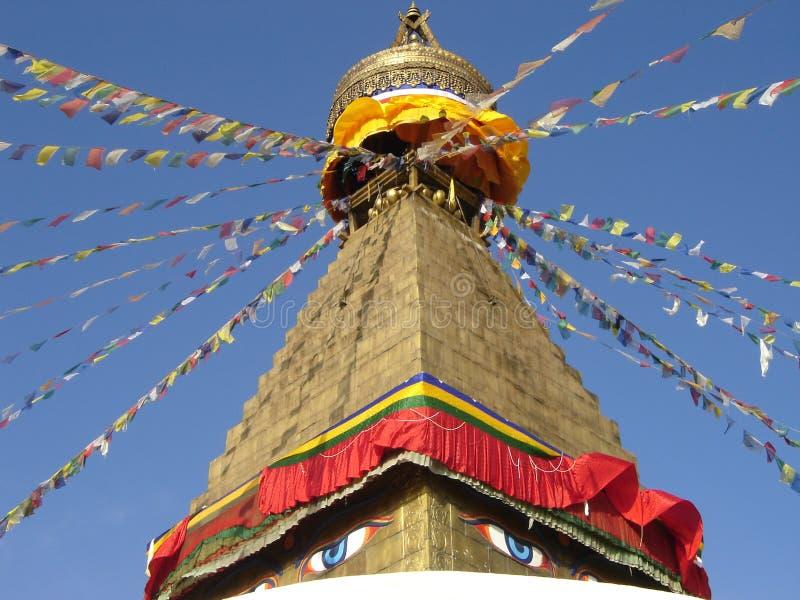 Stupa tibétain image libre de droits