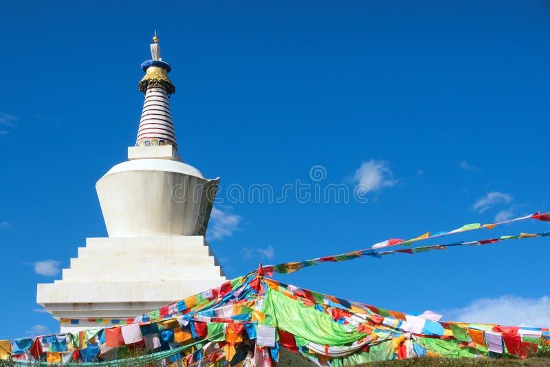 Stupa tibetano immagine stock