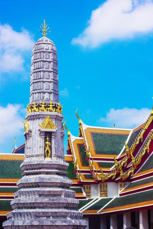 Stupa Wat Pho images libres de droits