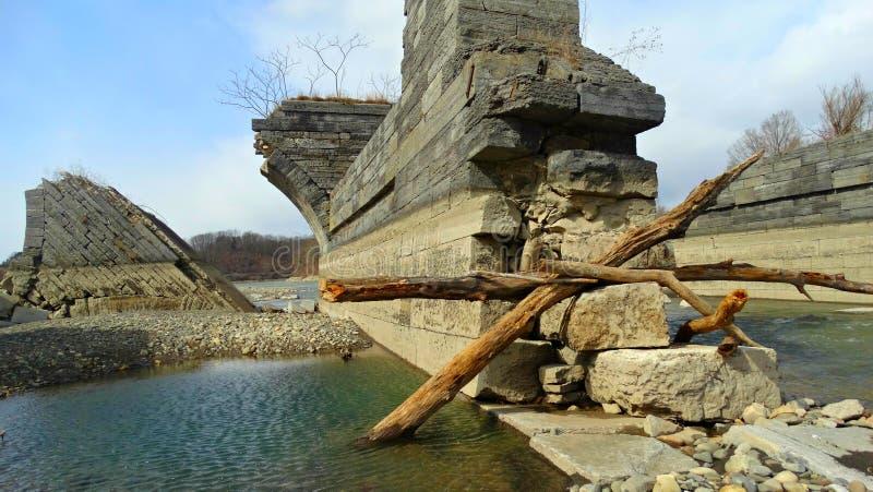 Stupad haveri royaltyfria bilder