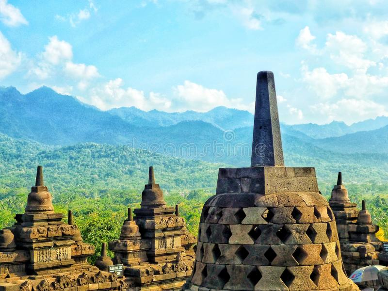 Stupas fotografia stock