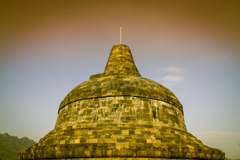 Stupas de Borobudur imagem de stock royalty free