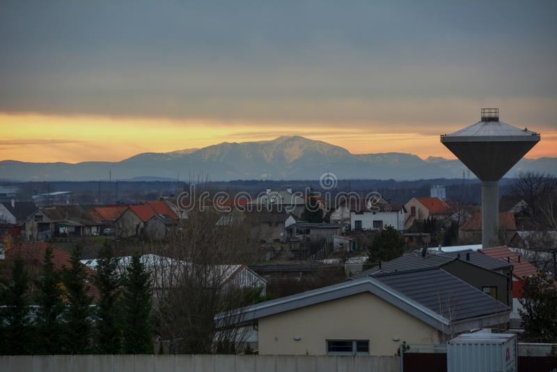 Stupava, Slovakia stock photography
