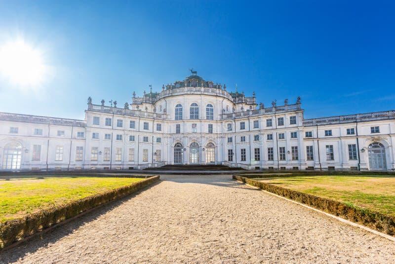 Stupinigi de jachtpaleis, Turijn, Piemonte, Italië royalty-vrije stock afbeeldingen
