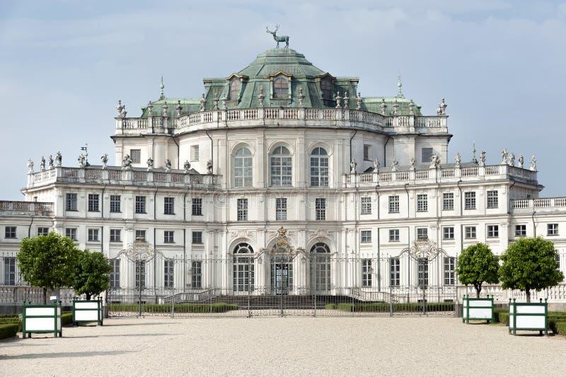 Stupinigi royal hunting palace. Historical royal hunting palace at Stupinigi, near Turin, Italy stock photography