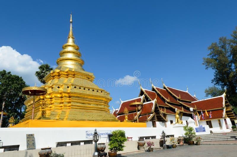 Stupy lub jedi Tajlandzki styl. obrazy royalty free
