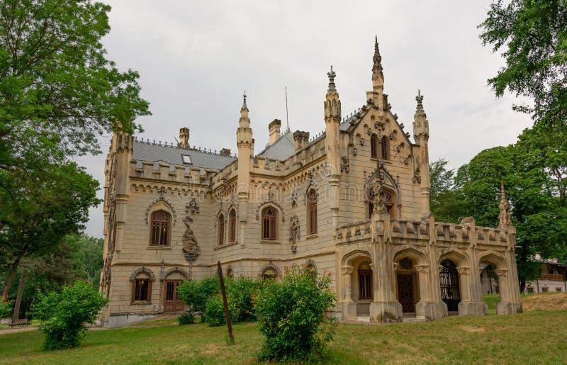 Sturdzakasteel in Miclauseni Roemenië royalty-vrije stock fotografie