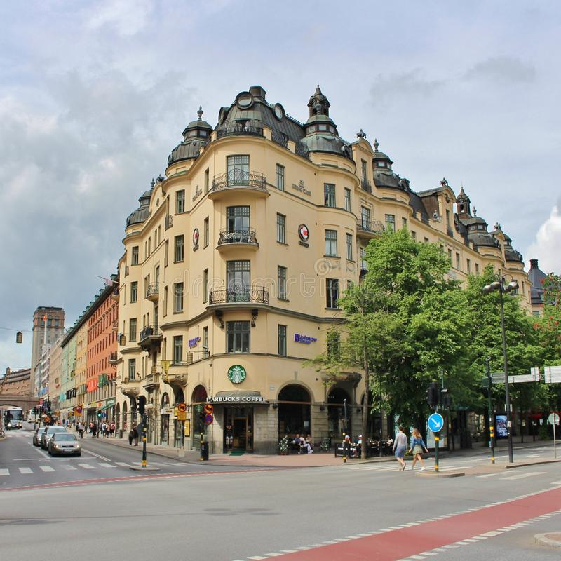kungsgatan at stureplan editorial photography image of norrmalm