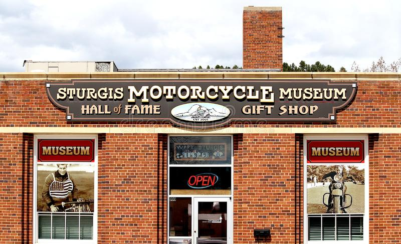 Sturgis Motorcycle Museum and Hall of Fame. The Sturgis Motorcycle Museum and Hall of Fame is a non-profit organization dedicated to preserving the history of stock image