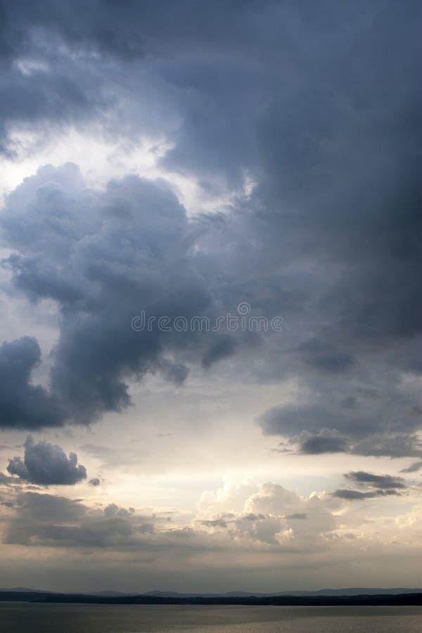 Sturm lizenzfreies stockfoto