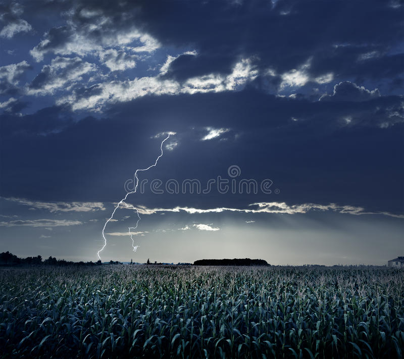 Sturm-Kommen lizenzfreies stockbild