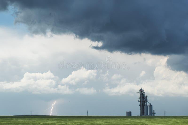 Sturm kommt lizenzfreie stockfotos