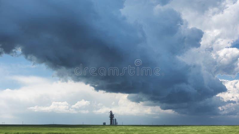 Sturm kommt stockbilder