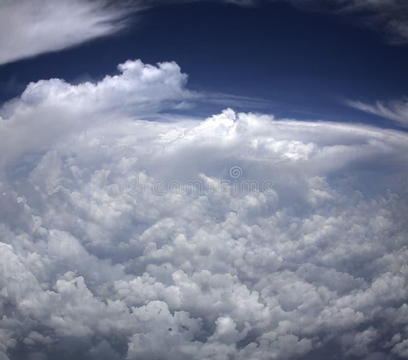 Download Sturm von oben stockbild. Bild von blau, hurrikan, sturm - 26366099