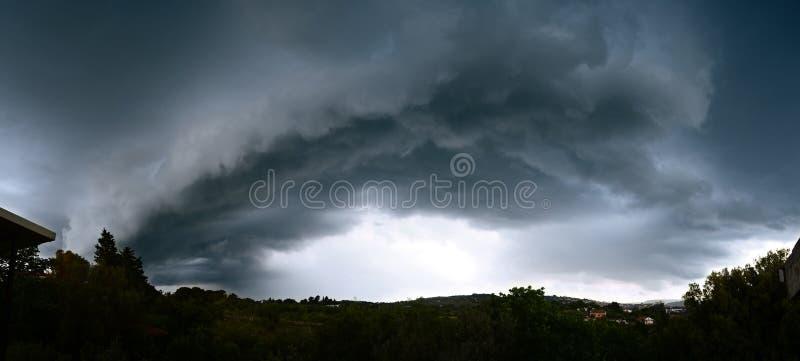 Sturm, Wirbelsturm, Hurrikan stockfotos