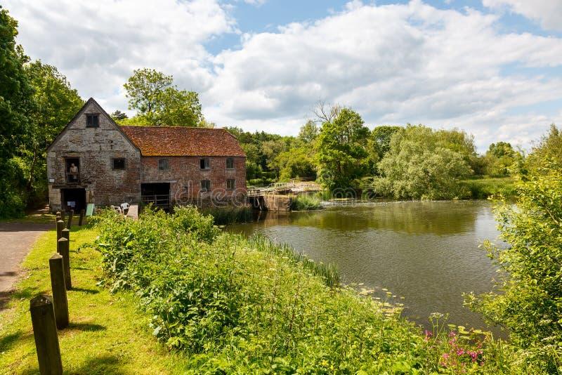 Sturminster Newton Mill Dorset images libres de droits