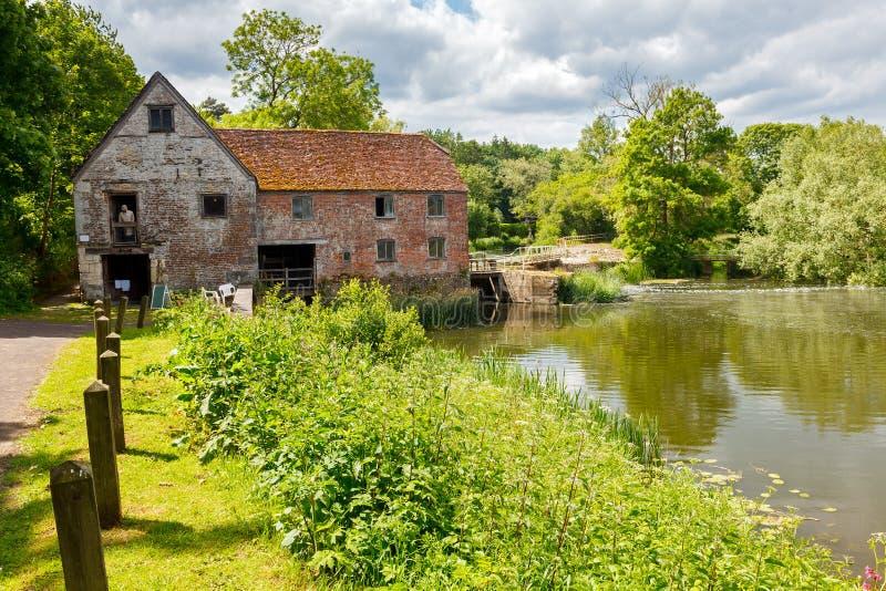 Sturminster Newton Mill Dorset photos stock