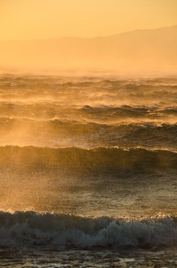 Sturmwind stockfoto