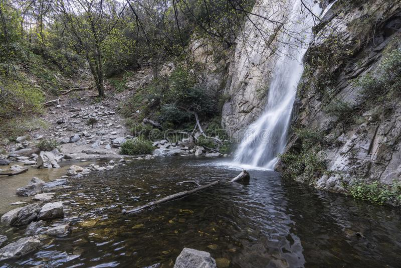 Sturtevant Falls Angeles National Forest Los Angeles California royalty free stock image