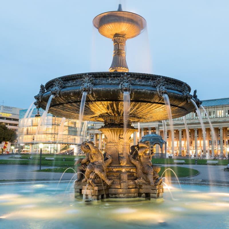 Stuttgart, Deutschland stockfotografie