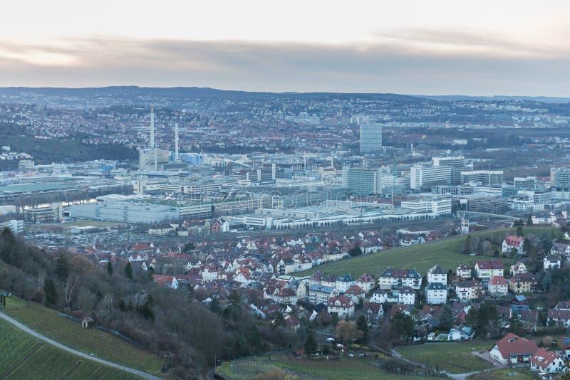 Stuttgart, Deutschland stockbild