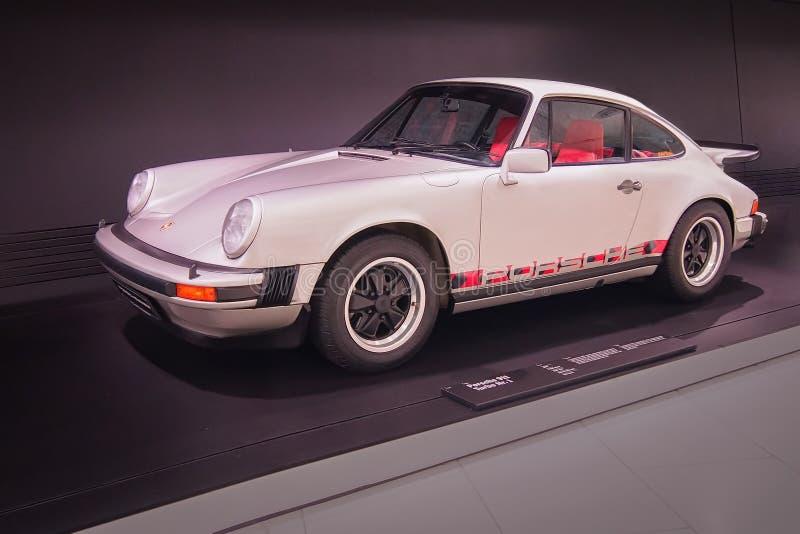 Porsche 911 Turbo Nr. 1. STUTTGART, GERMANY-APRIL 7, 2017: 1974 Porsche 911 Turbo Nr. 1 in the Porsche Museum stock image