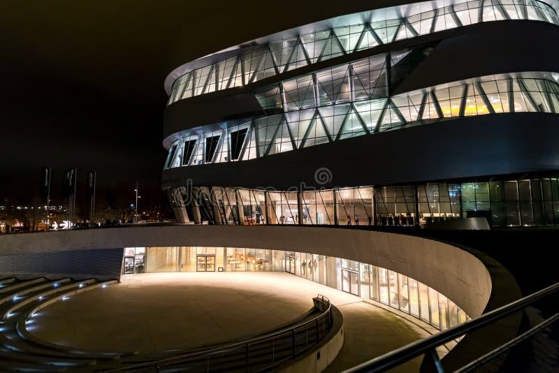 Stuttgart, Germany - January 07, 2018, The Mercedes Benz Museu stock photos