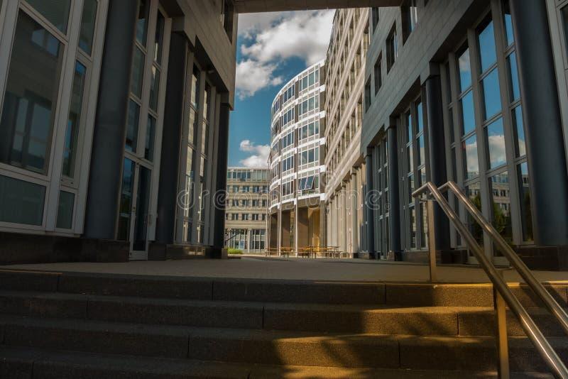 STUTTGART,GERMANY - JULY 09,2019: Vaihingen This is the Regierungspraesidium of Baden-Wuerttemberg stock image