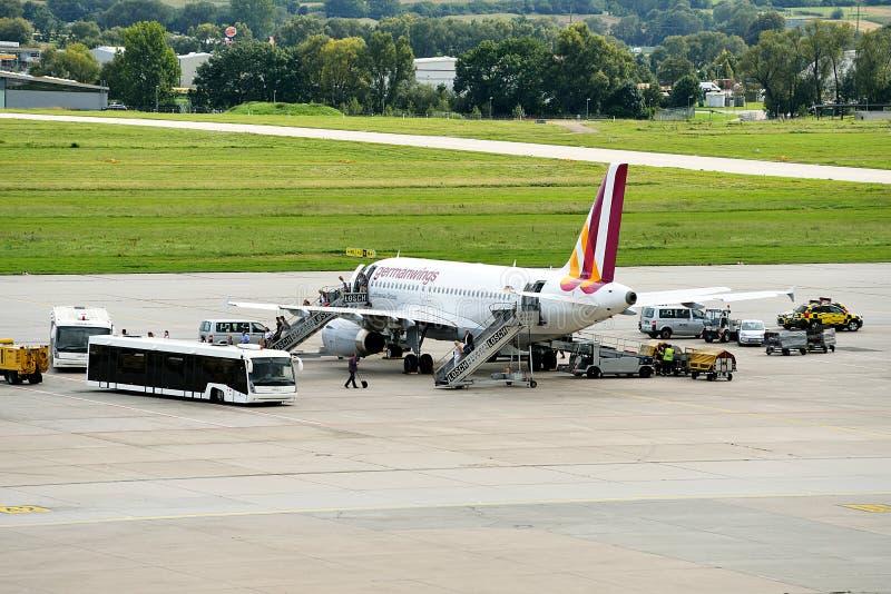 Stuttgart lotnisko zdjęcia royalty free
