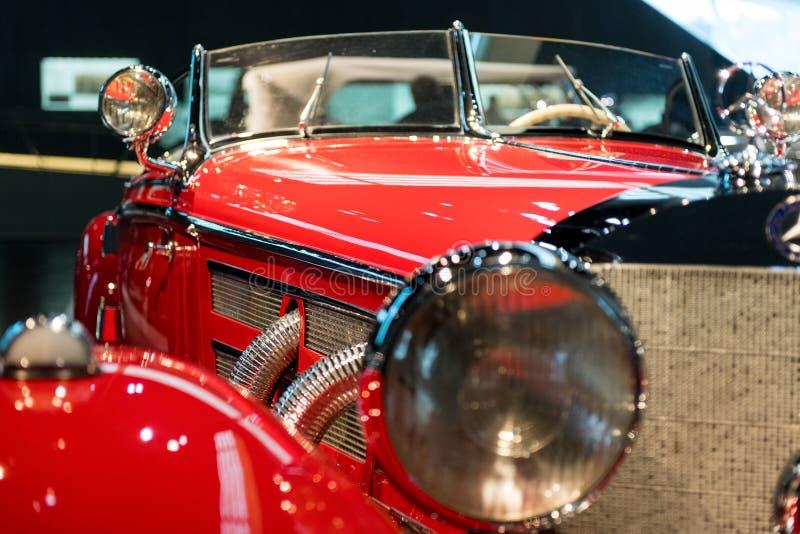 Stuttgart Niemcy, Luty, - 03, 2018 Mercedez Benz muza obraz stock