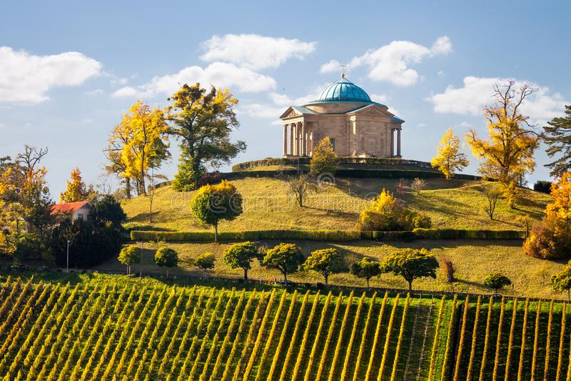 Stuttgart Niemcy widok Rotenberg obrazy royalty free