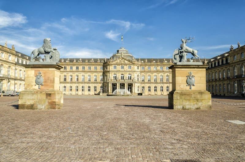 Stuttgart-Schloss stockfotografie