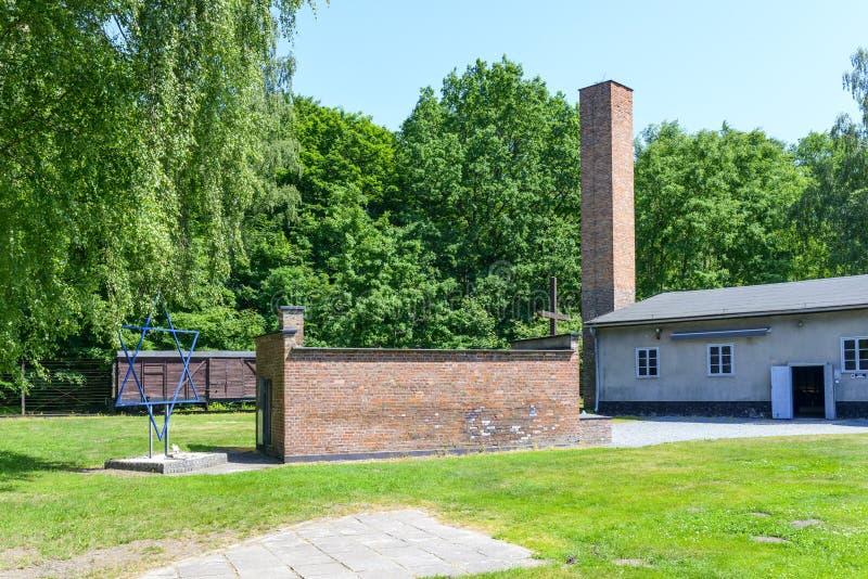 Stutthof Niemiecki koncentracyjny obóz obraz stock