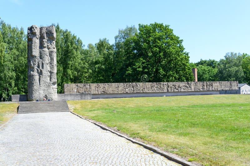 Stutthof Niemiecki koncentracyjny obóz zdjęcie stock