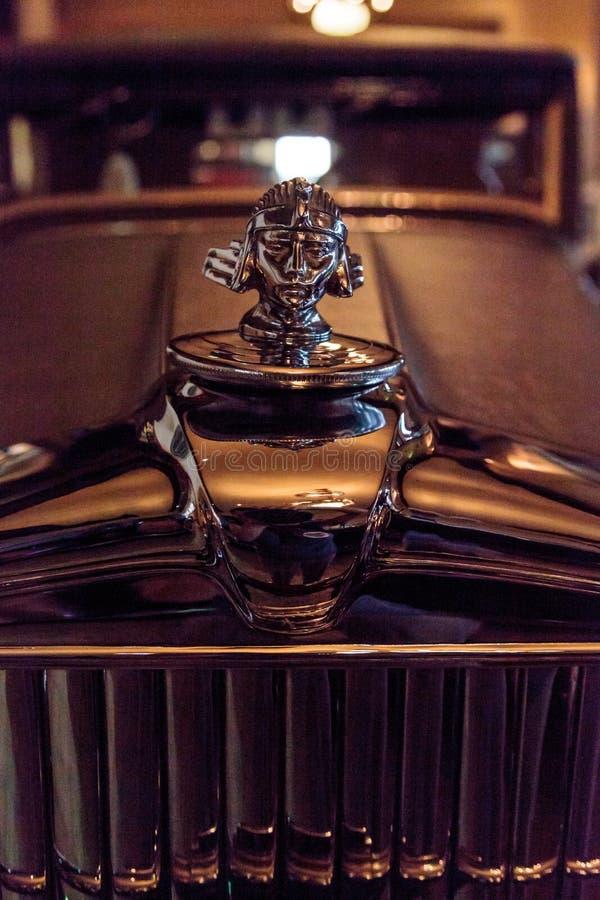 1928年Stutz 8 BB黑鹰speedster 库存照片