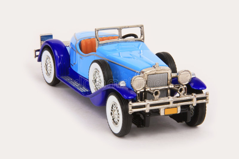 Stutz Bearcat 1931. 1931 Stutz Bearcat, Matchbox Models of Yesteryear Y-14/b, 1:43 scale diecast, issued 2007,front right view, high angle stock photos