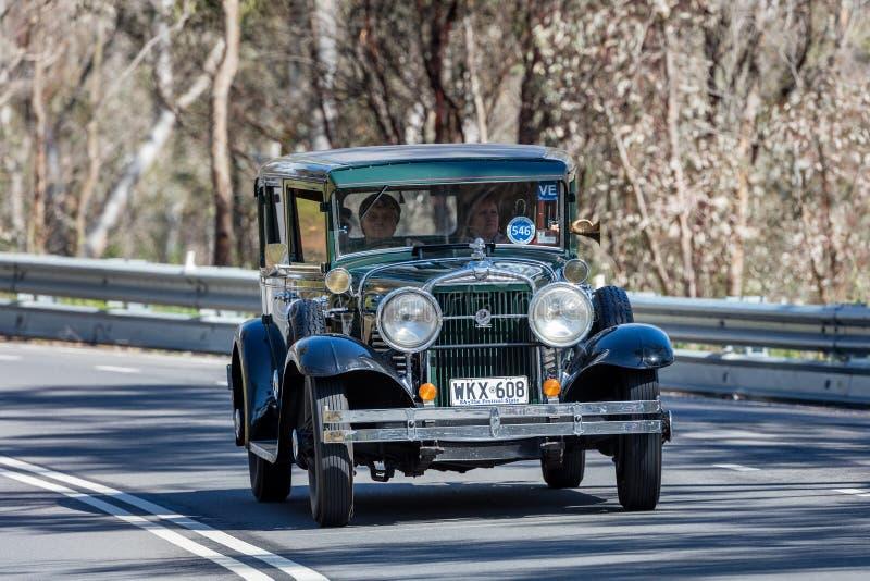 1929 Stutz Black Hawk Sedan royalty free stock images