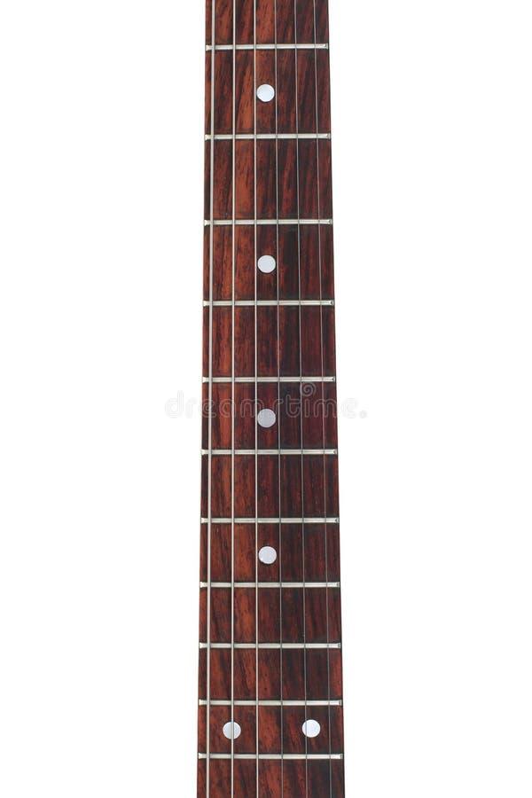 Stutzen der elektrischen Gitarre stockbilder
