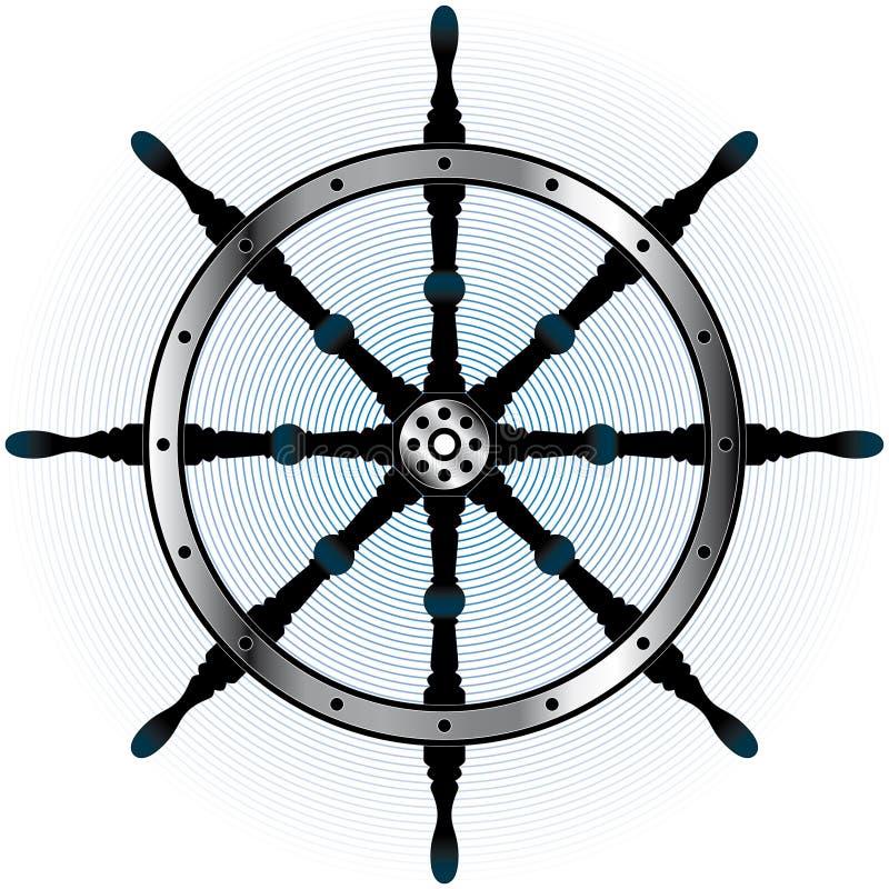 Stuurwiel vector illustratie