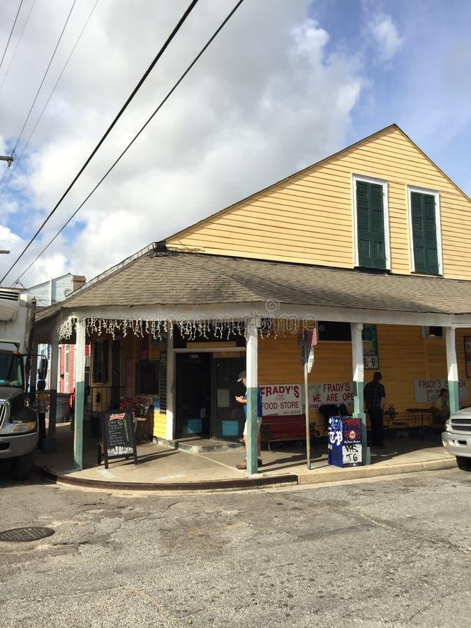 Stwarza ognisko domowe Nowy Orlean Bywater fotografia stock