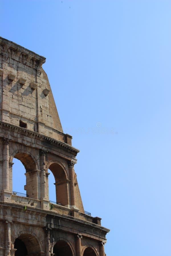 Stycke av forntida Rome arkivfoton
