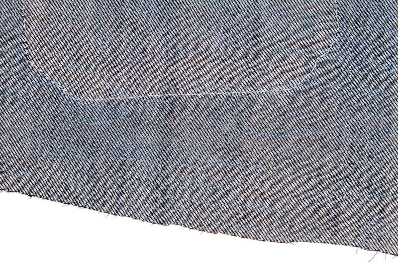 Stycke av jeanstyg royaltyfri foto