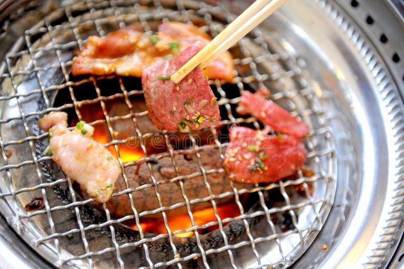Stycke av smaklig meat arkivfoto