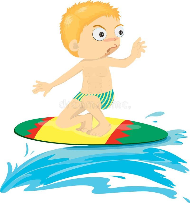stygg pojke royaltyfri illustrationer