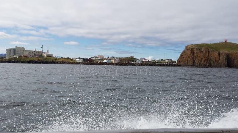 Stykkishà ³ lmur冰岛 免版税库存照片