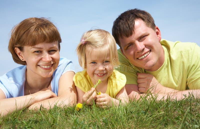 styl życia rodzinny portret zdjęcia royalty free