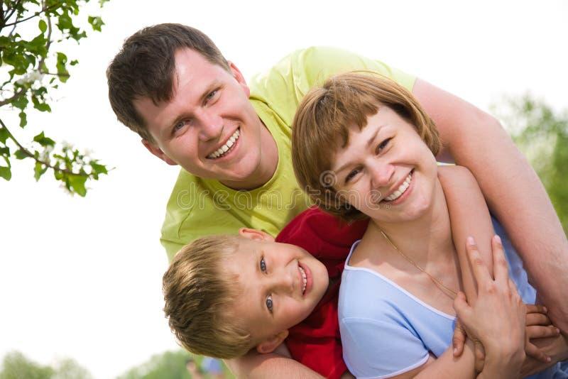 styl życia rodzinny portret obrazy royalty free