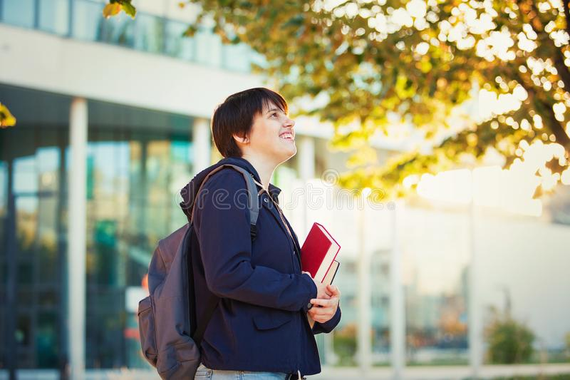 Styl życia uczeń zdjęcie stock