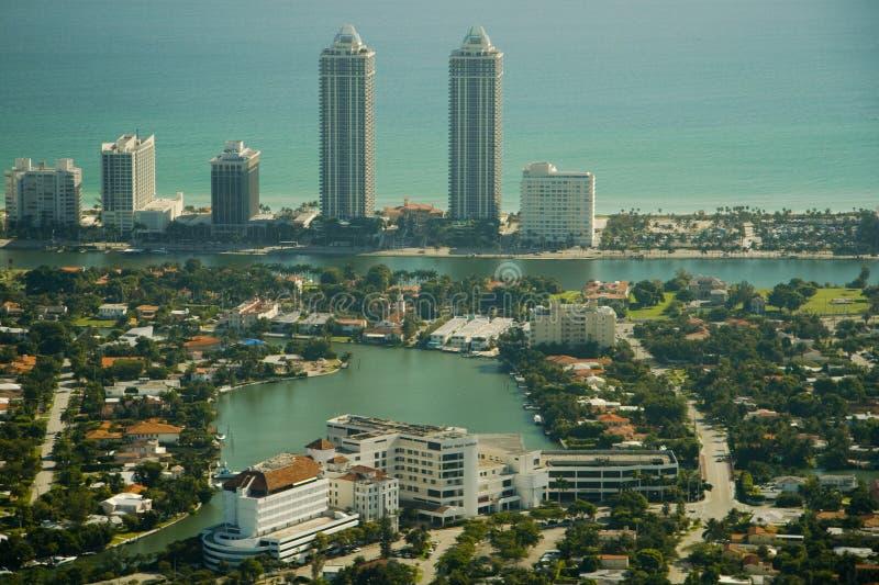 styl Miami budynku. zdjęcia royalty free